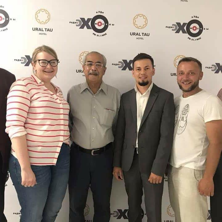 Приняли участие в передаче на радио «Эхо-Москвы» в Уфе